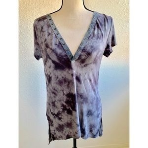 America Eagle | Soft & Sexy Open Back Tie Dye Tee